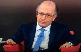 """Geraldo Alckmin na Globo News: """"Sou bonzinho, então não respondo..."""""""