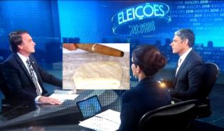 Jair Bolsonaro no Jornal Nacional