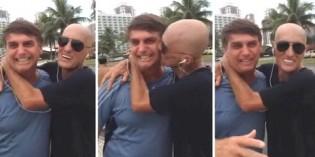 """Para derrubar a pecha de """"homofóbico"""", PSL põe na rede encontros de Bolsonaro com Amin Khader (Veja o Vídeo)"""