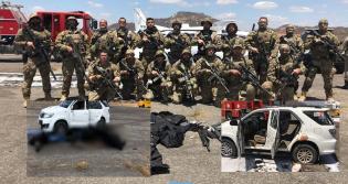 Quadrilha, que já havia matado policiais, é surpreendida e 6 ladrões são mortos em tentativa de roubo de avião