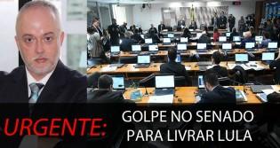 """Procurador denuncia """"golpe"""" em andamento no Senado para livrar Lula"""
