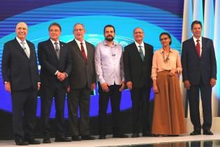 O retrato do debate e o desempenho de cada um dos candidatos