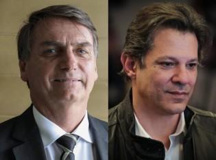 "Bolsonaro sobre Haddad: ""O pau mandado do corrupto preso e pai do kit-gay"""