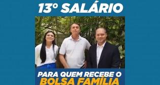 Bolsonaro propõe décimo terceiro para quem recebe Bolsa Família (veja o vídeo)
