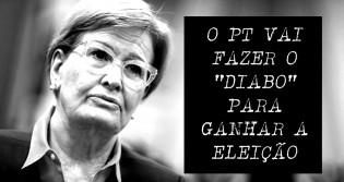 """Ana Amélia Lemos - """"O PT continua o mesmo, vão fazer o diabo para ganhar a eleição"""" (veja o vídeo)"""