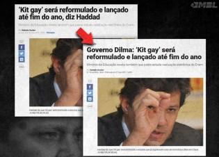 Silenciosamente, Veja muda manchete de 2011 para favorecer Haddad e retira matéria do ar