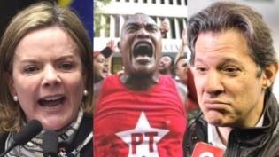 O PT e os petistas estão destilando ÓDIO