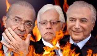 O inferno de Temer, Padilha e Moreira começa à zero hora do dia 1º de janeiro de 2019