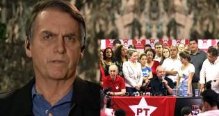 """""""Se os petistas estão reclamando, é porque eu fiz a coisa certa"""", diz Bolsonaro sobre a nomeação de Moro"""
