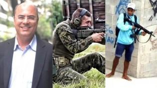 "O governador, o sniper e o terrorista ""inofensivo"""