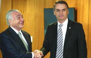 Presidente Bolsonaro, Temer não pode ser Embaixador do Brasil em país nenhum