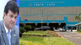 O rombo que Mandetta deixou na Santa Casa de Campo Grande