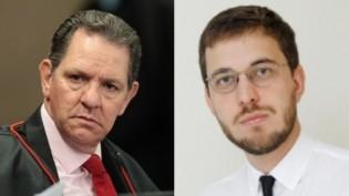 Briga feia entre o presidente do STJ e jornalista da Revista Crusoé