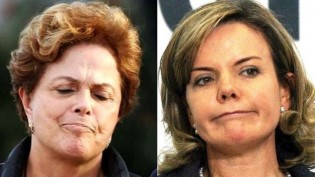 Dilma e Gleisi, o confronto na reunião petista