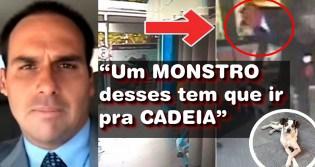 """""""Um monstro desses tem que ir pra cadeia"""": Eduardo Bolsonaro quer penas mais duras para quem cometer crueldade com os animais"""