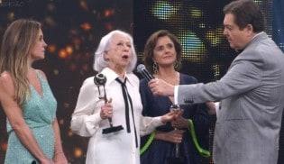O melancólico desabafo de Fernanda Montenegro e a resposta de Roger