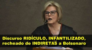 "Jornalista acaba com discurso de Rosa Weber: ""Ridículo, infantilizado e recheado de indiretas a Bolsonaro"""