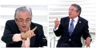 O dia em que Nêumanne Pinto destruiu Marco Aurélio ao vivo (Veja o Vídeo)