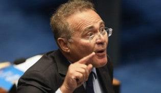 Com 14 procedimentos criminais, Renan perde 1ª batalha, mas ainda briga para presidir o senado (Veja o Vídeo)