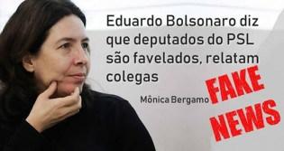 """Mônica Bergamo baixa o nível e mescla Fake News com """"fofoca"""""""
