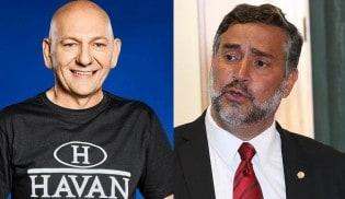 """Luciano Hang bate de frente com Paulo Pimenta do PT: """"Paulo, você é um completo idiota."""""""