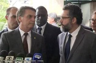 """Novo chanceler vaticina: """"No Brasil, agora falamos"""""""