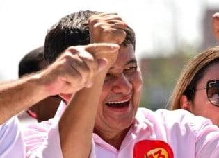 Governador petista do Piauí faz ovação a Lula na posse, mas povo não acompanha (Veja o Vídeo)