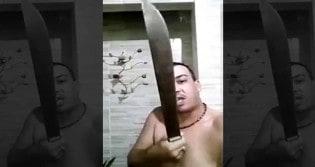 Homem que prometeu matar Bolsonaro tem crise de arrependimento (Veja o Vídeo)