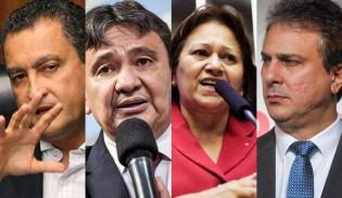 """Os governadores nordestinos aumentam o """"buraco"""" dos seus estados"""