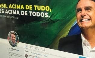 Saiba o motivo do inconformismo da Grande Mídia com o Twitter de Bolsonaro