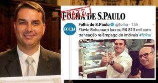 Folha faz manchete sensacionalista sobre Flavio para no final admitir que não há ilegalidade