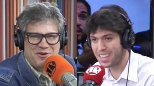 """Âncora da Jovem Pan tem ataque de """"ciúmes"""" em pleno ar (Veja o Vídeo)"""