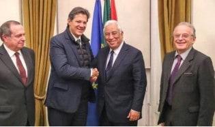 Enquanto o Brasil sofre por Brumadinho, Haddad passeia na Europa e dissemina Fake News
