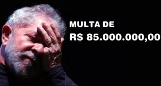 Lula reclama da multa (Veja o Vídeo)