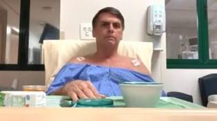 URGENTE: Bolsonaro faz pronunciamento do hospital e pede apuração do atentado (Veja o Vídeo)