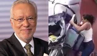 Alexandre Garcia sugere a Bolsonaro condecoração à mulher que salvou motorista