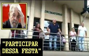 "Desprezível, presidente do Instituto Lula trata velório do pequeno Arthur como ""Festa"" (Veja o Vídeo)"