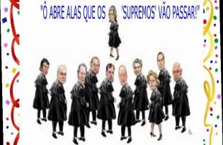 O 'bloco dos brasileiros de bem', pergunta: Não passou da hora de dar um 'basta' em tantas 'supremas folias'?
