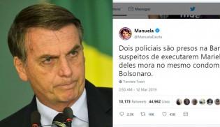 JOGO SUJO: Esquerda e mídia se esforçam para ligar Bolsonaro ao assassinato de Marielle