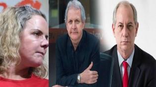 Ciro Gomes e Augusto Nunes entram em conflito com  relação a Gleisi (Veja o Vídeo)