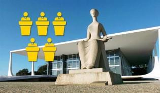 """Fim da PEC da Bengala e impeachment de Gilmar podem """"oxigenar"""" STF com 5 novos ministros"""