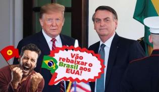 """Nunca vi tantos esquerdistas tendo """"orgulho"""" de ser brasileiro como agora..."""