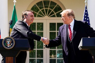 Presidente Bolsonaro encanta EUA e a Globo baba ódio (Veja o Vídeo)