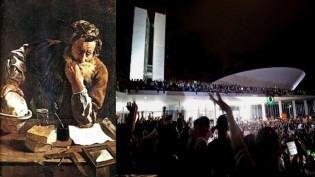 Arquimedes e sua Alavanca x O Povo Brasileiro e o seu Congresso