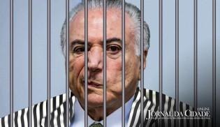 Michel Temer preso: o Brasil não é mais a casa da mãe Joana! (Veja o Vídeo)
