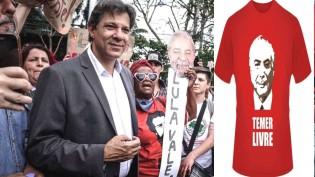 """O devasso PT agora defende """"Temer Livre"""""""