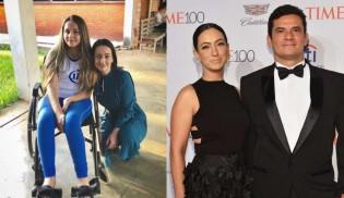 Esposa de Moro ajuda jovem Camyle com doença rara