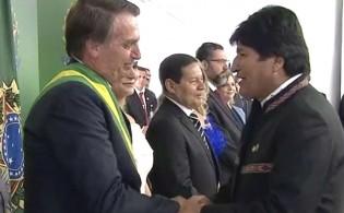 """Bolsonaro põe fim a """"mamata"""" de Evo e impõe R$ 133 milhões de multa por descumprimento contratual"""