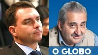 Flávio reage e anuncia processo contra afamado jornalista de O Globo