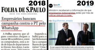 Época repete, com nova embalagem, Fake News da Folha